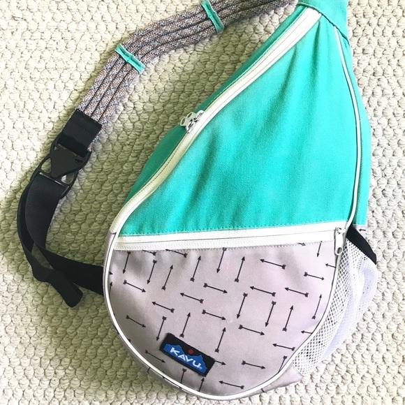 e6dbfef651e31 Kavu Handbags - 🧗🏻 ♀ KAVU Paxton Rope Sling Bag- Mint